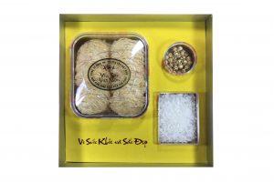 Tổ yến thô vàng làm sạch 100gr