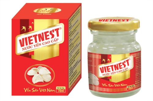 Nước yến cao cấp đường phèn Vietnest