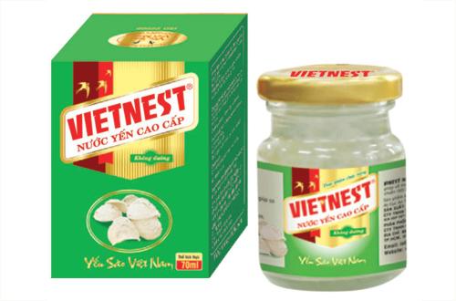 Nước yến cao cấp không đường Vietnest