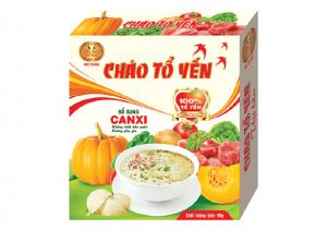 Cháo tổ yến cao cấp Vietnest thịt băm bổ sung Canxi