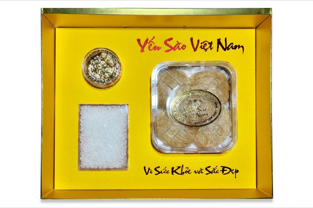 Tổ yến thô vàng làm sạch 50gr