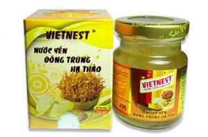 Nước yến cao cấp đông trùng hạ thảo Vietnest